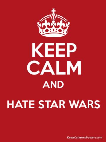 star wars hate