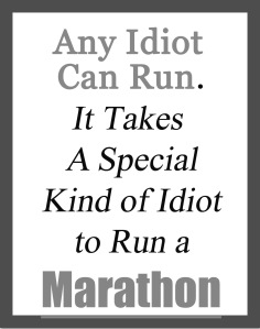 special idiots run marathon copy
